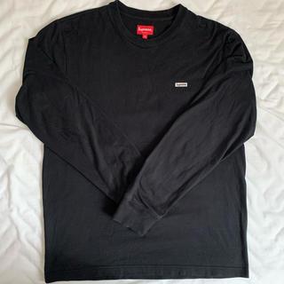 Supreme - supreme ロングTシャツ ブラック