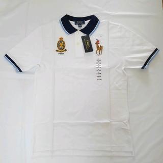 新品  ポロラルフローレン   ビッグポニー ポロシャツ 160 ホワイト