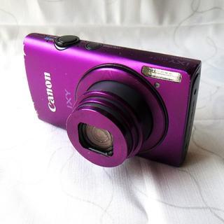 Canon - Canon デジカメ IXY 600F  パープル 8倍ズーム 薄型 コンパクト