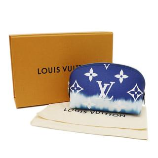 LOUIS VUITTON - LOUIS VUITTON ポーチ LVエスカル モノグラム 青 A2756