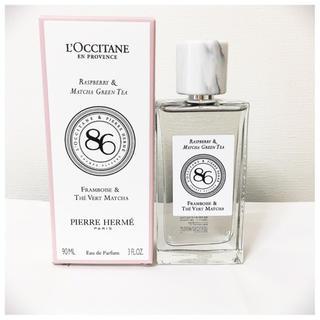 ロクシタン(L'OCCITANE)のロクシタン フレグランス 限定 ラズベリー マッチャ グリーンティ(香水(女性用))