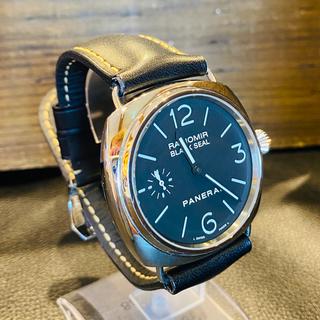 パネライ(PANERAI)の【⭐️美品⭐️】パネライ ラジオミール ブラックシール(腕時計(アナログ))