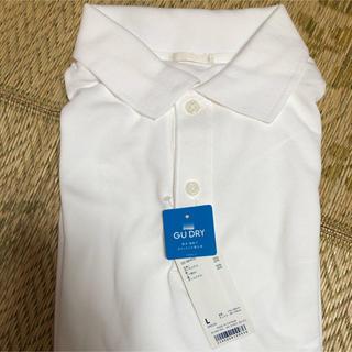 ジーユー(GU)のGU メンズポロシャツ 半袖(ポロシャツ)