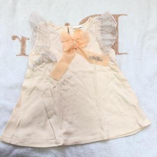 ジルスチュアートニューヨーク(JILLSTUART NEWYORK)のジルスチュアート ノースリーブ 100(Tシャツ/カットソー)