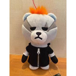 ビッグバン(BIGBANG)のKRUNK×BIGBANG ぬいぐるみストラップ付きマスコット ジヨン(アイドルグッズ)