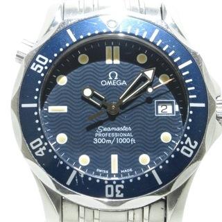 オメガ(OMEGA)のオメガ 腕時計 2561.80 ボーイズ ネイビー(腕時計)
