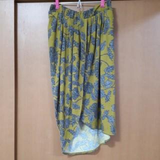 antiqua - アンティカ 花柄ラップスカート