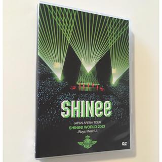 シャイニー(SHINee)のSHINee World 2013 ~Boys meet U~ DVD 未再生(ミュージック)