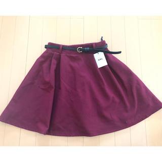 GRL - GRL ベルト付きスカート