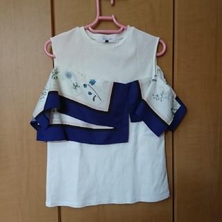 ルシェルブルー(LE CIEL BLEU)のデザイン カットソー(Tシャツ/カットソー(半袖/袖なし))