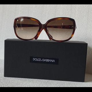 ドルチェアンドガッバーナ(DOLCE&GABBANA)の美品【DOLCE  & GABBANA】レディースサングラス(サングラス/メガネ)