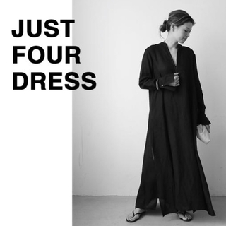 DEUXIEME CLASSE - Deuxieme Classe CELERI LINEN BLACK DRESS