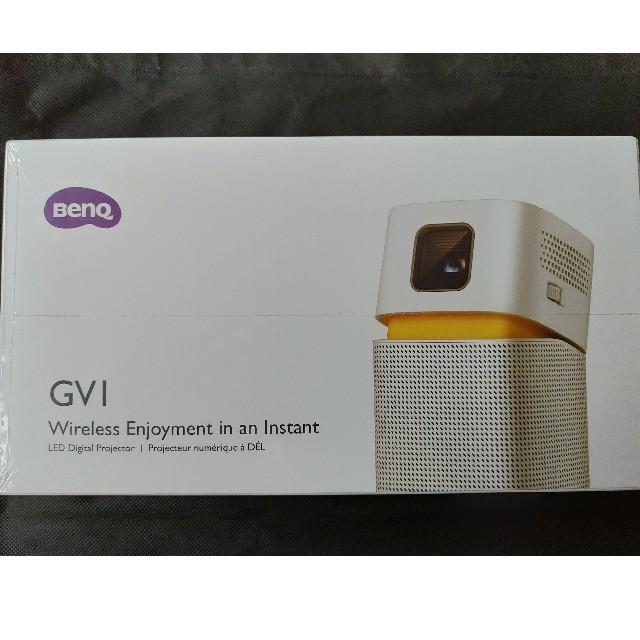 RICOH(リコー)の[新品]BenQ モバイルプロジェクター GV1 スマホ/家電/カメラのテレビ/映像機器(プロジェクター)の商品写真
