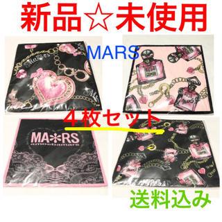 マーズ(MA*RS)のMARS☆マーズ☆新品☆パフューム柄☆アリスタイム柄☆ハンドタオル☆4枚セット(ハンカチ)