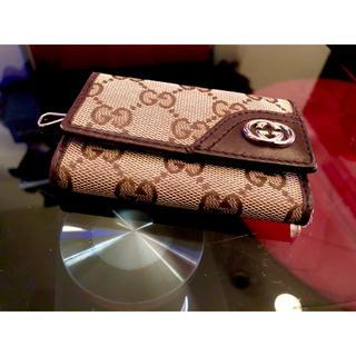 グッチ(Gucci)のGUCCI グッチ 正規品 キーケース GG キャンバス キーレス キーホルダー(キーケース)