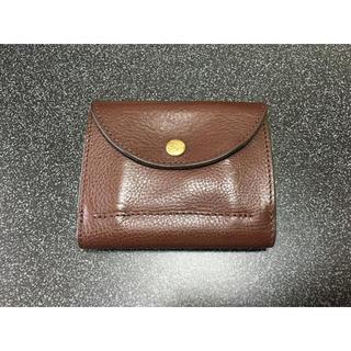 ダコタ(Dakota)の折り畳み財布(ブラウンカラー)(折り財布)