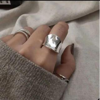 フィリップオーディベール(Philippe Audibert)の大人気なため再入荷!tear drop ring silver925 (リング(指輪))