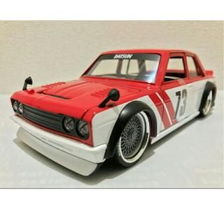 ニッサン(日産)のJadaジェイダ/'73 Datsunダットサン 510 1/24 510ブル(ミニカー)