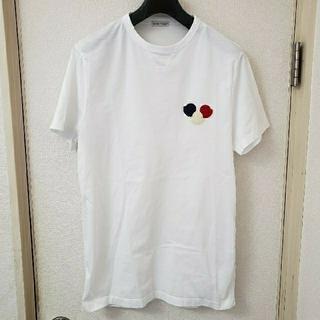 モンクレール(MONCLER)の正規品MONCLERモンクレールTシャツL(Tシャツ/カットソー(半袖/袖なし))