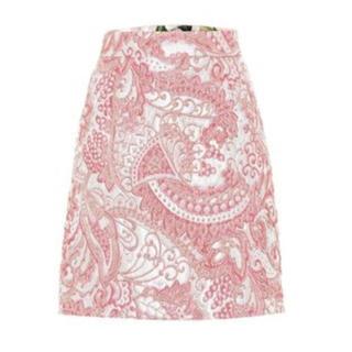 ドルチェアンドガッバーナ(DOLCE&GABBANA)のDolce & Gabbana メタリックジャガード ミニスカート(ミニスカート)