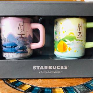 スターバックスコーヒー(Starbucks Coffee)のスターバックス 韓国 マグカップ(グラス/カップ)