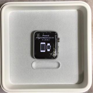 アップルウォッチ(Apple Watch)の付属品完備★Apple Watch series1 42mm(腕時計(デジタル))