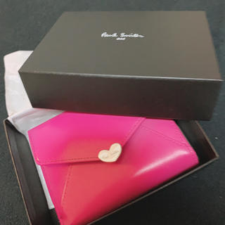ポールスミス(Paul Smith)のポールスミス ラブレター 二つ折り財布 ピンク(財布)