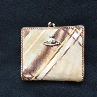 ヴィヴィアンウエストウッド(Vivienne Westwood)のヴィヴィアンウエストウッド 二つ折り財布 がま口  人気(折り財布)