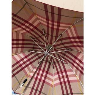 BURBERRY - ❤️可愛いピンク❤️Burberry  バーバリー日傘 長傘 晴雨兼用 チェック