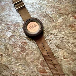 スント(SUUNTO)の▼SUUNTO スント トラバースアルファ フォリッジグリーン ミリタリー(腕時計(デジタル))