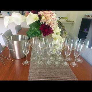 フランフラン(Francfranc)のワイングラス12杯 ワインボトルホルダー セット(グラス/カップ)