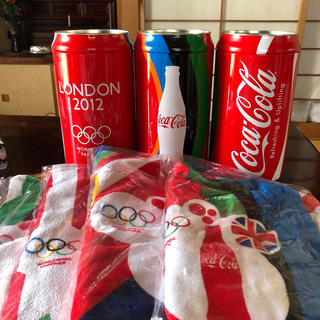 コカコーラ(コカ・コーラ)のコカコーラ ビーチタオル 2012(タオル/バス用品)