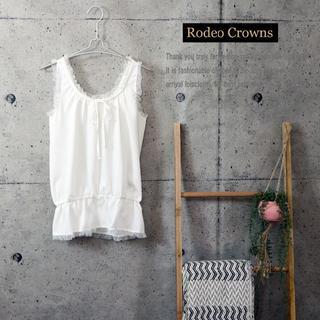 RODEO CROWNS - 新品未使用 大人気 Rodeo Crowns ノースリブラウス WHT F