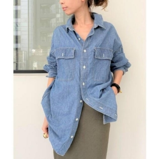 L'Appartement DEUXIEME CLASSE - REMI RELIEF レミレリーフ Chambray シャツ