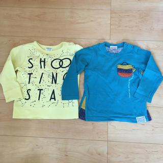 Branshes - Branshes青色長袖Tシャツ☆BREEZE黄色トレーナー☆サイズ90