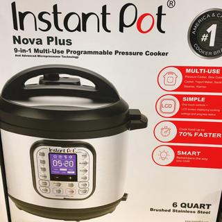 InstantPot 9in1 プログラム機能付 マルチ電気圧力鍋 5.6l