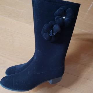 シャネル(CHANEL)のCHANELブーツ(レインブーツ/長靴)
