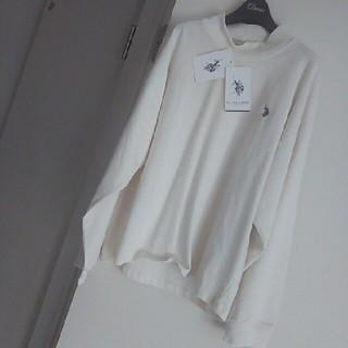 ポロラルフローレン(POLO RALPH LAUREN)のpolo.usa.ASSE.新品秋物トップスsizeLL(Tシャツ(長袖/七分))