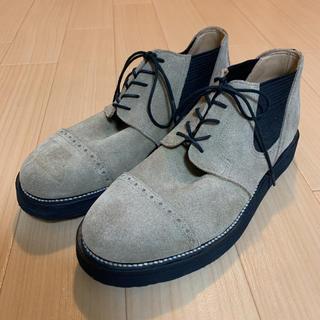 ネイバーフッド(NEIGHBORHOOD)の極美品 ネイバーフッド サイドゴアブーツ スエード(ブーツ)
