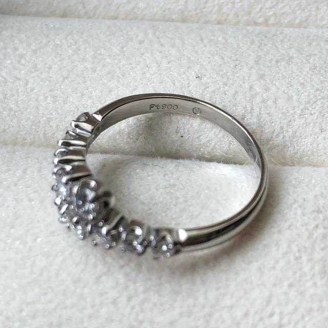 Vendome Aoyama(ヴァンドームアオヤマ)の専用 ヴァンドーム青山✨11号✨Pt900×ダイヤ0.52ctリング レディースのアクセサリー(リング(指輪))の商品写真