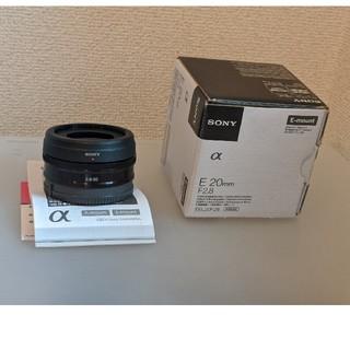 SONY - SONY Eマウントレンズ 20mm f2.8