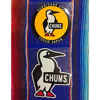 CHUMS - 新品 CHUMS Sticker 2枚セット チャムス ステッカー e