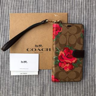 コーチ(COACH)のCOACH シグネチャー花柄 アイフォンケース   XS max(iPhoneケース)
