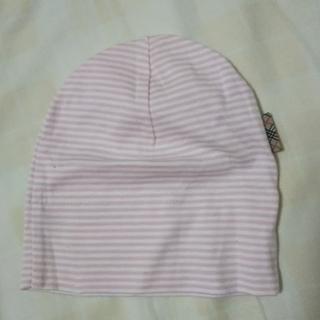 バーバリー(BURBERRY)のバーバリー ベビー帽子(70)(帽子)