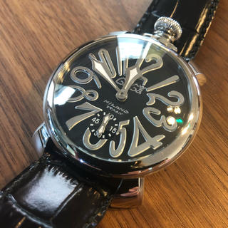 GaGaMILANOガガミラノ 腕時計 黒ブラック