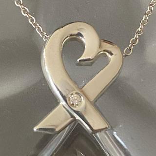 ティファニー(Tiffany & Co.)のティファニー ラヴィングハート ダイヤ1Pネックレス(ネックレス)