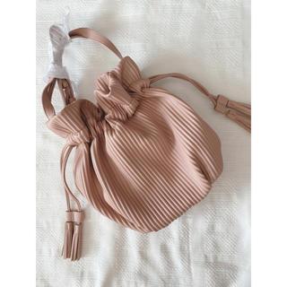 しまむら - 即発送☆しまむら 新作 巾着 プリーツ ショルダーバッグ