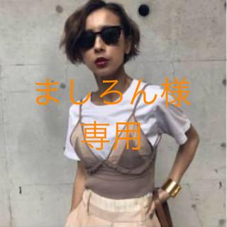 アメリヴィンテージ(Ameri VINTAGE)のAmeri ビスチェ付Tシャツ(Tシャツ(半袖/袖なし))