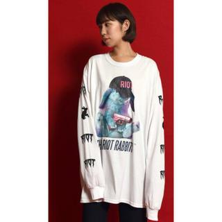 ミルクボーイ(MILKBOY)のMILKBOY RIOT RABBIT Long Sleeve Tee XXL(Tシャツ/カットソー(七分/長袖))
