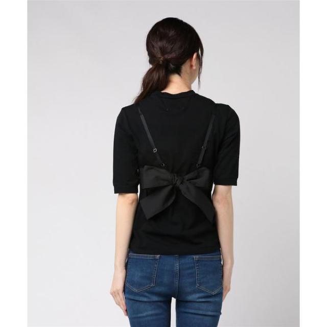 Ameri VINTAGE(アメリヴィンテージ)のAmeri   MEDI LACE BUSTIER TEE レディースのトップス(Tシャツ(半袖/袖なし))の商品写真